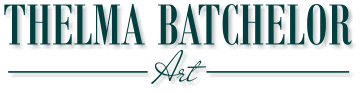 Thelma Batchelor Art Logo